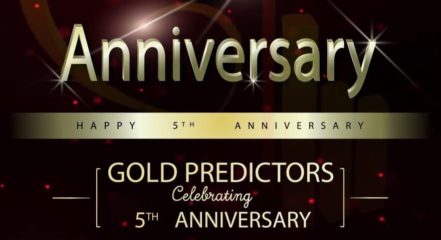 gold predictors celebrates 5th Anniversary