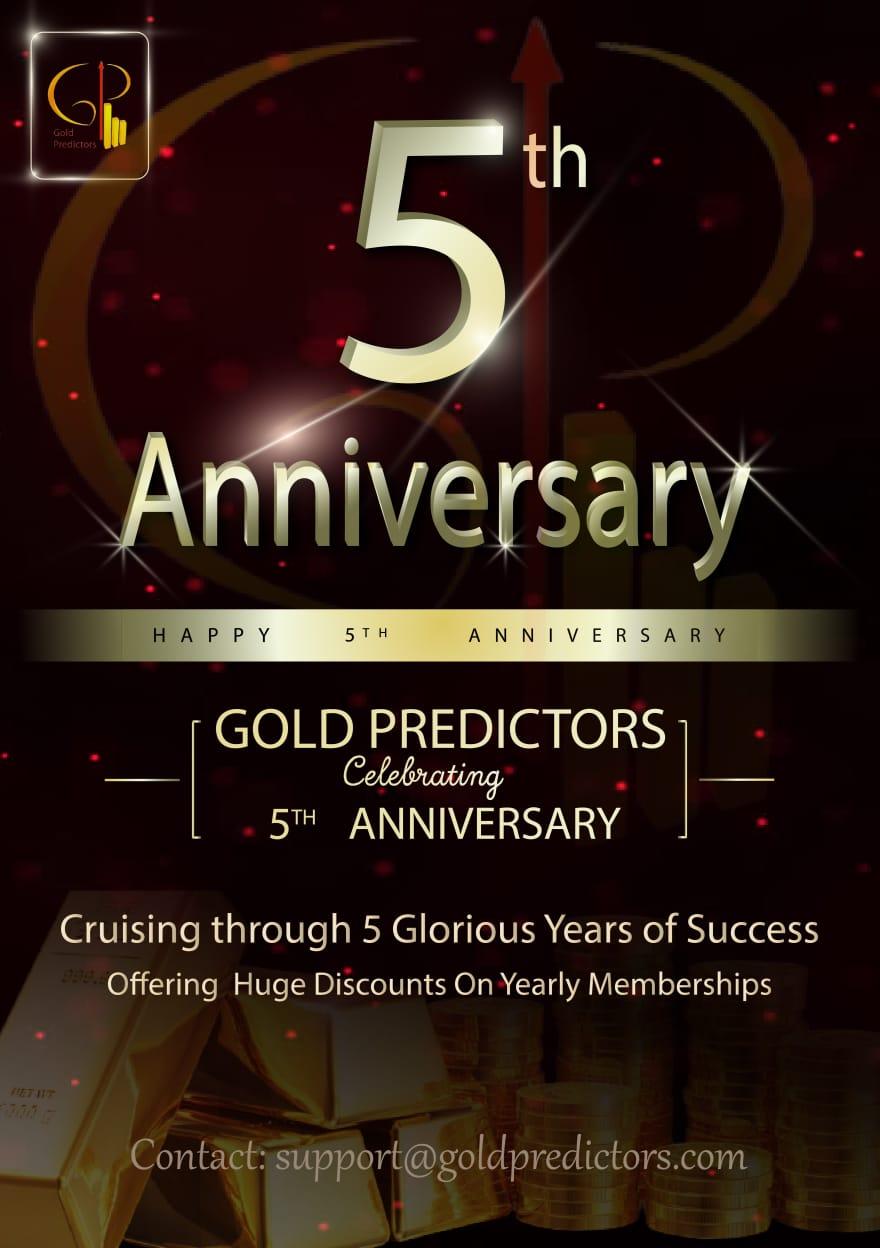 gold predictors 5th anniversary